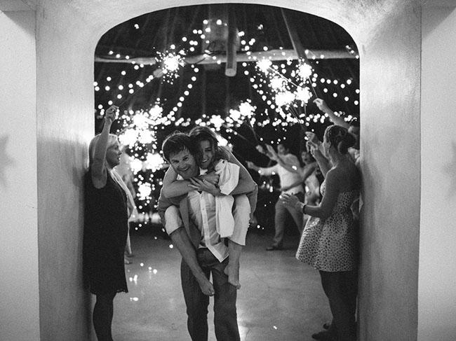 sparkler exit