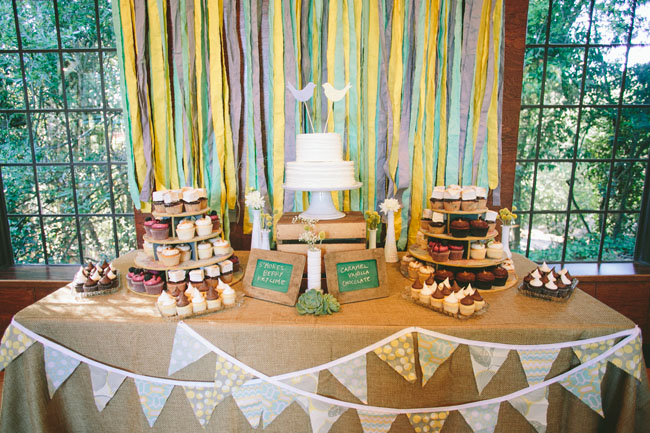 ribbon dessert backdrop