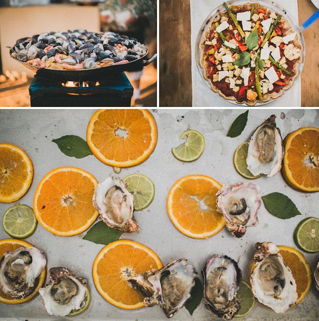 oyster bar wedding