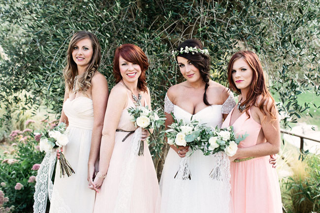 tuscany bridesmaids