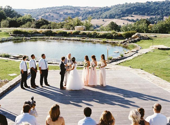 tuscany ceremony