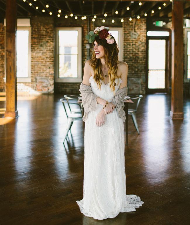 urban loft bride