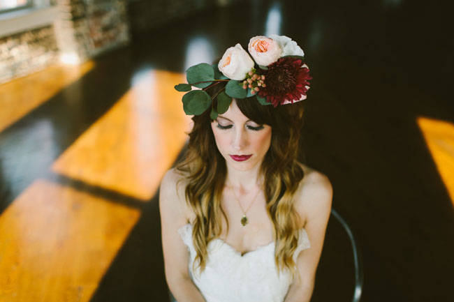 urban loft flower crown