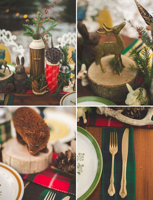 winter table critters