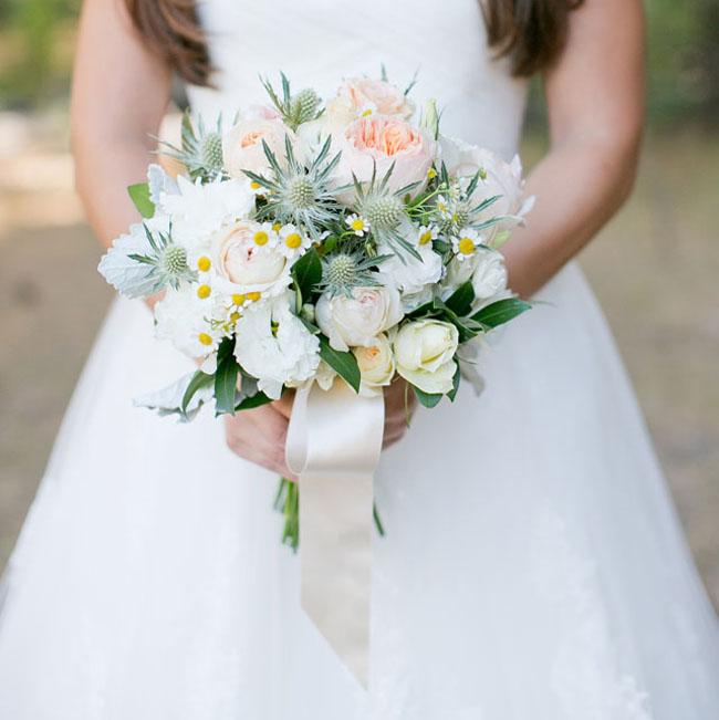 pastel rustic bouquet