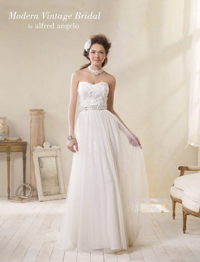 Modern Vintage Bridal by Alfred Angelo