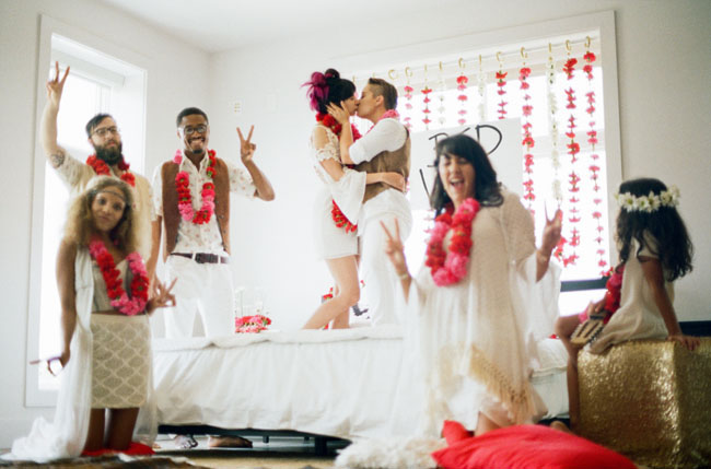 bed in love ceremony