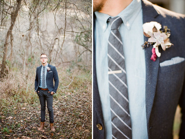 hipster boutonniere