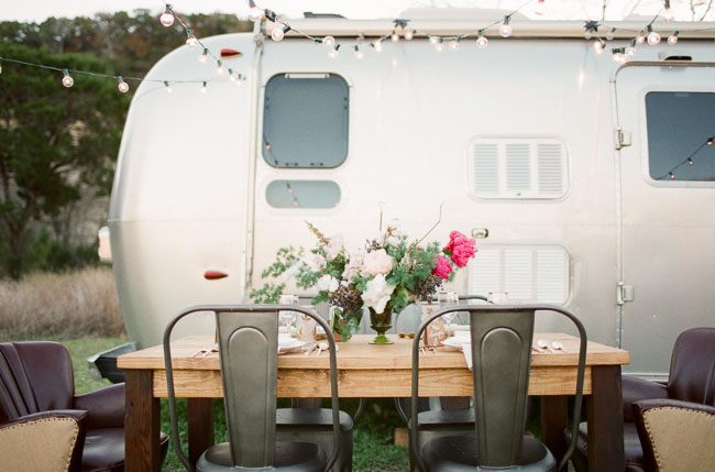 airstream tablescape