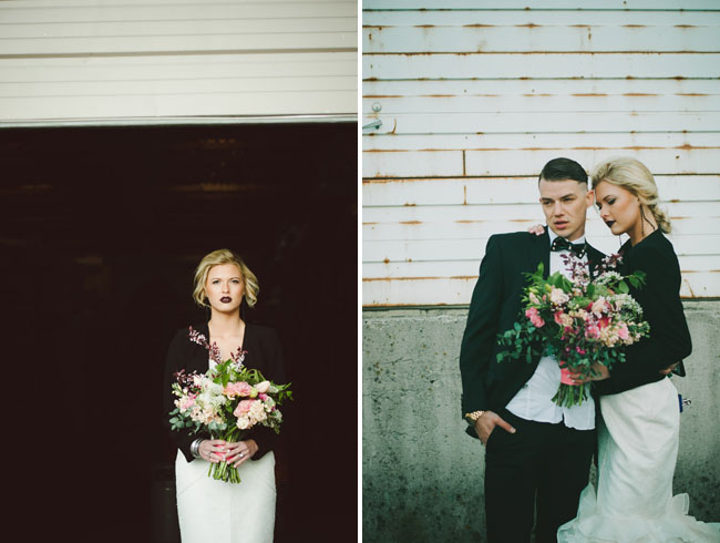 bow tie wedding inspiration