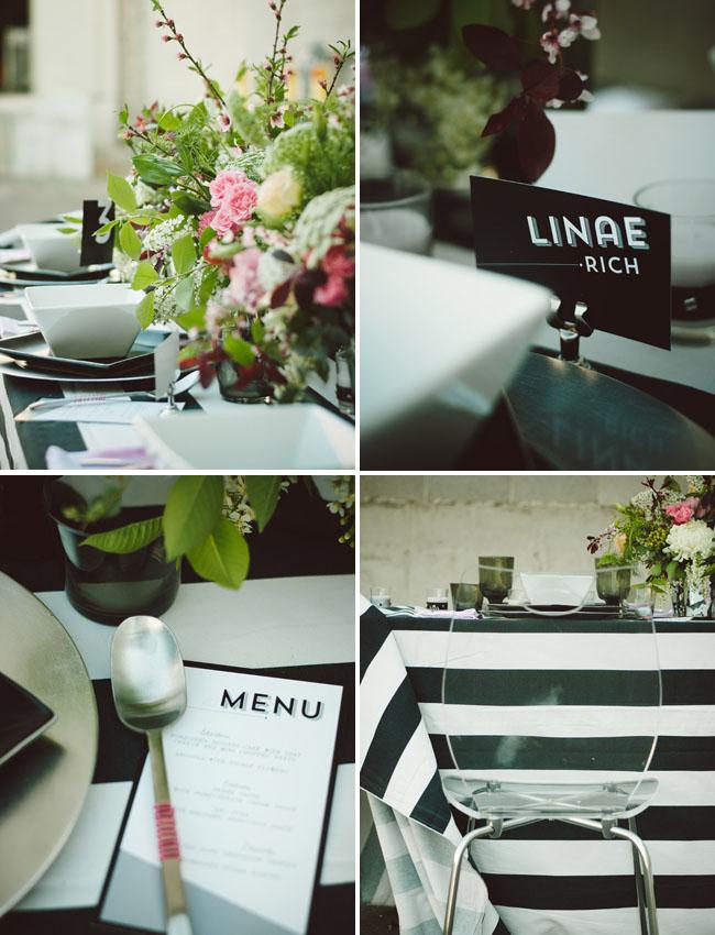 bow tie wedding inspiration