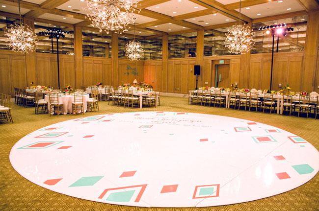 mid century modern dance floor