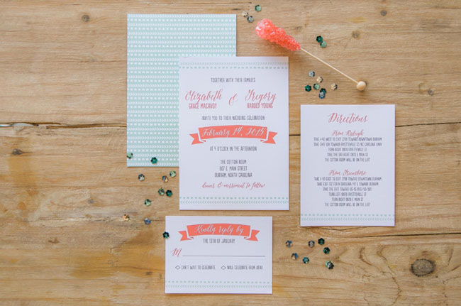 crafty pie invitations