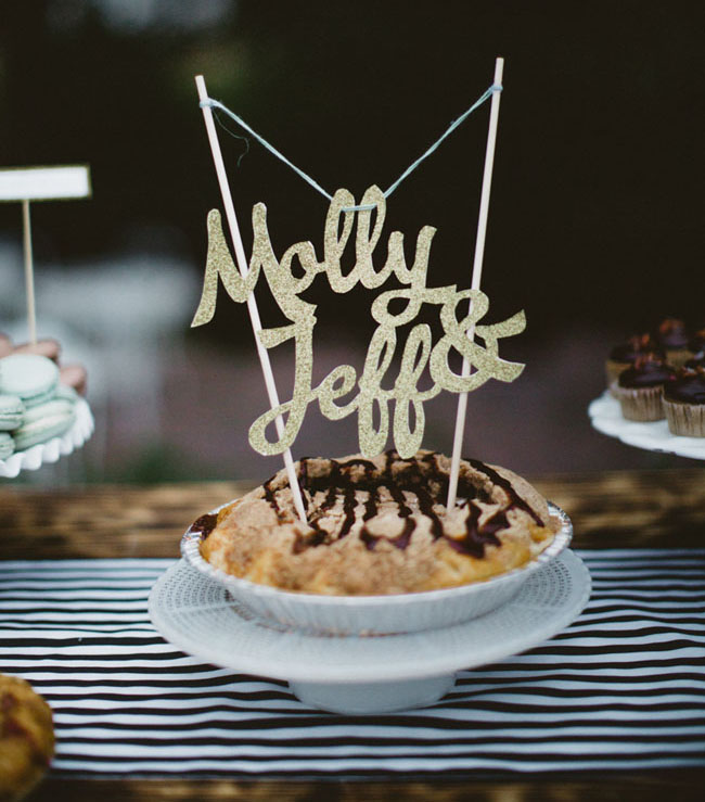 cake topper pie