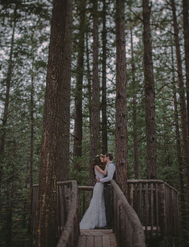 treehouse camp wedding