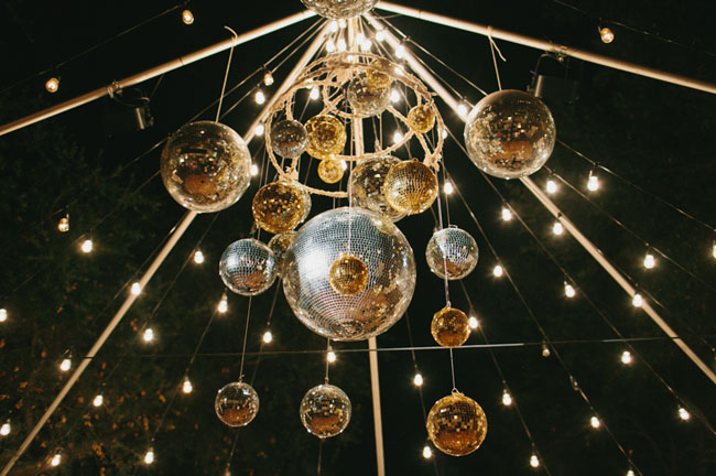disco ball ceiling