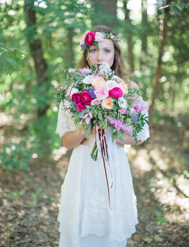 valentine flower bride