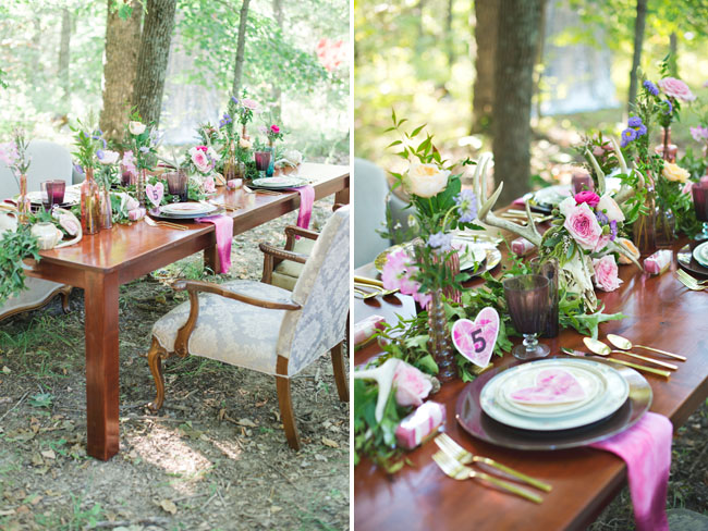 rustic pink inspiration