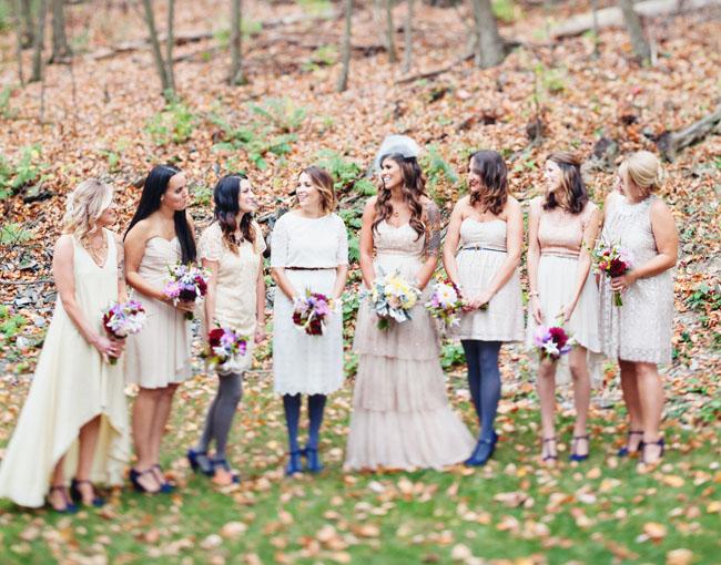 hudson valley bridesmaids
