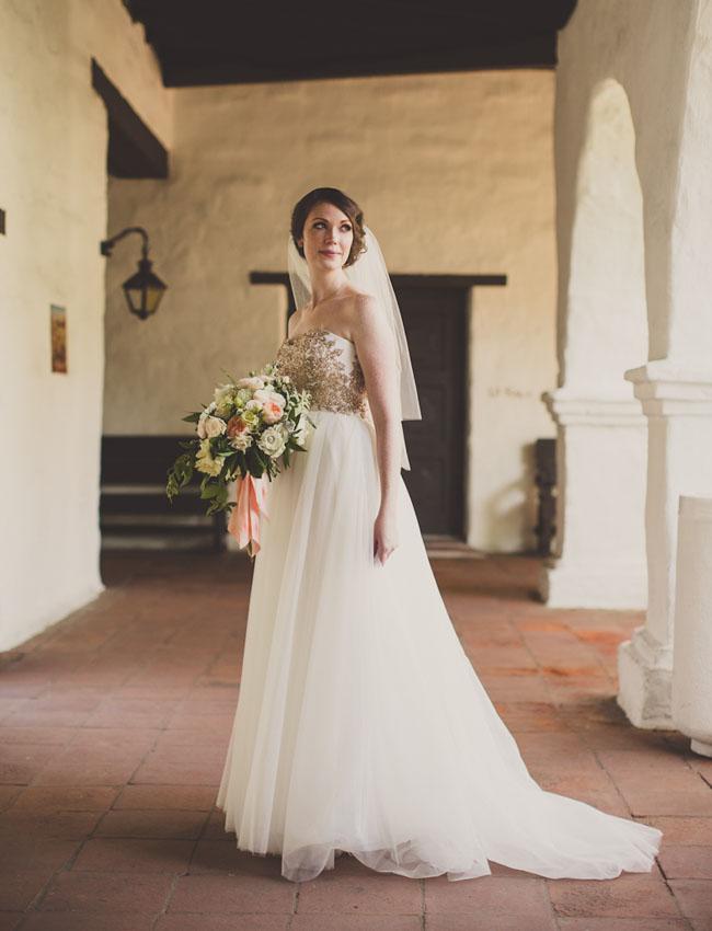 San Diego Wedding Gowns 9 Fancy gold top wedding dress