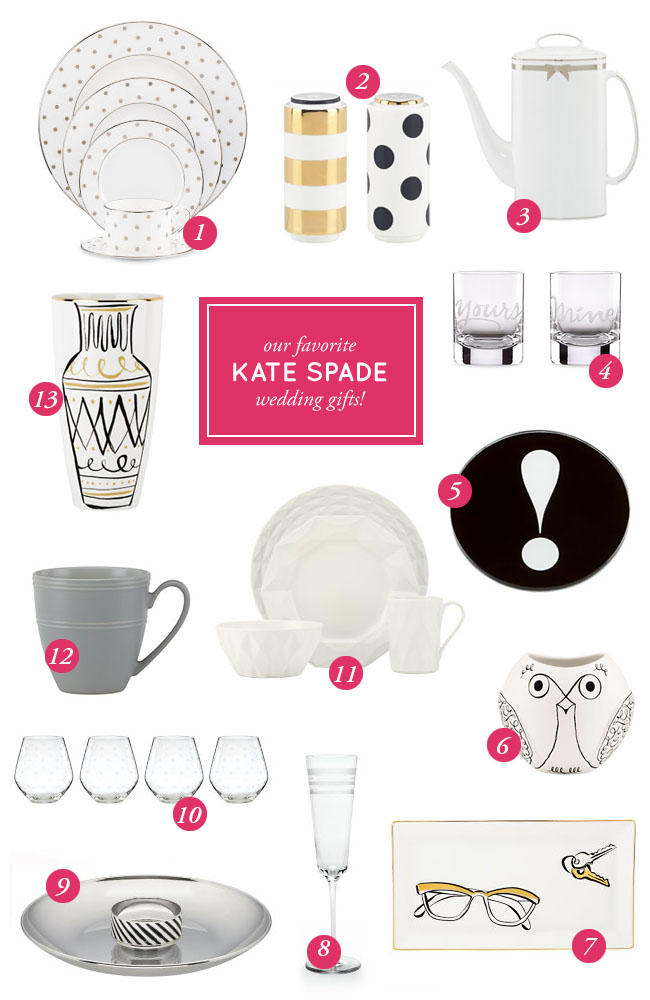 Kate Spade Wedding Gifts