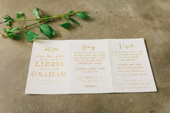 invitation trifold