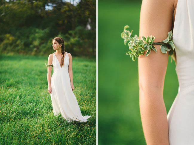 greenery arm band