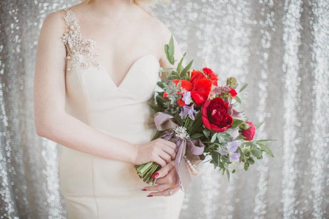 disco valentines bouquet