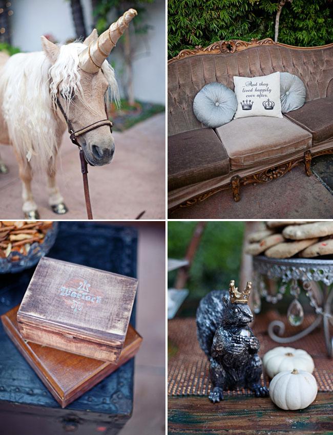 fairytale wedding details