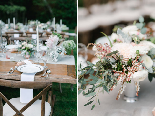 farm table tablescape