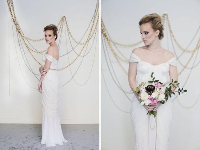 mid century metal bride
