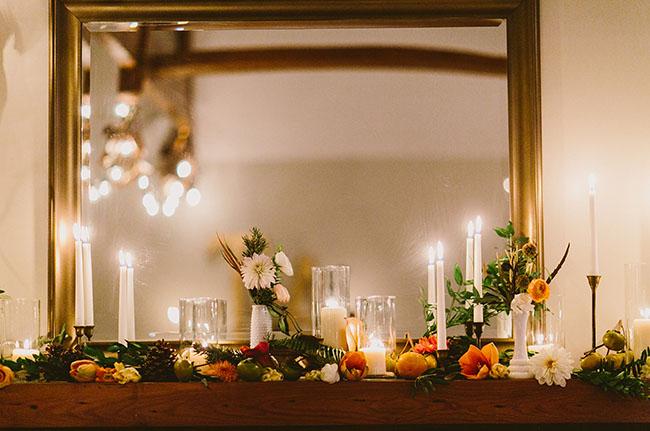 candlelit mantle