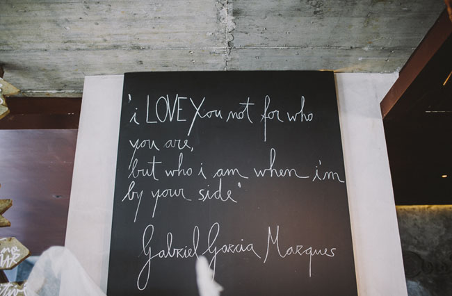 quotes on chalkboard