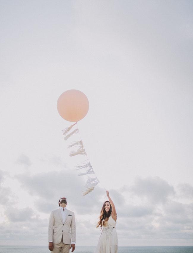 tissue tassel balloon