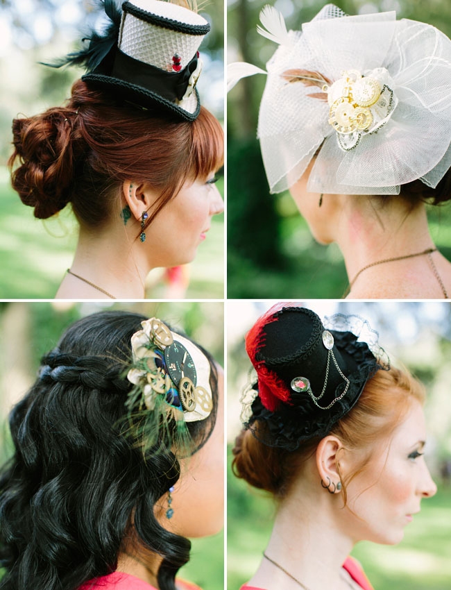 steampunk hair pieces