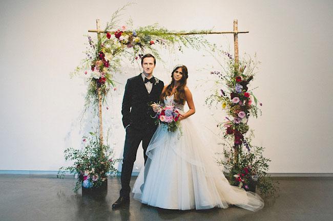 stormy wedding inspiration