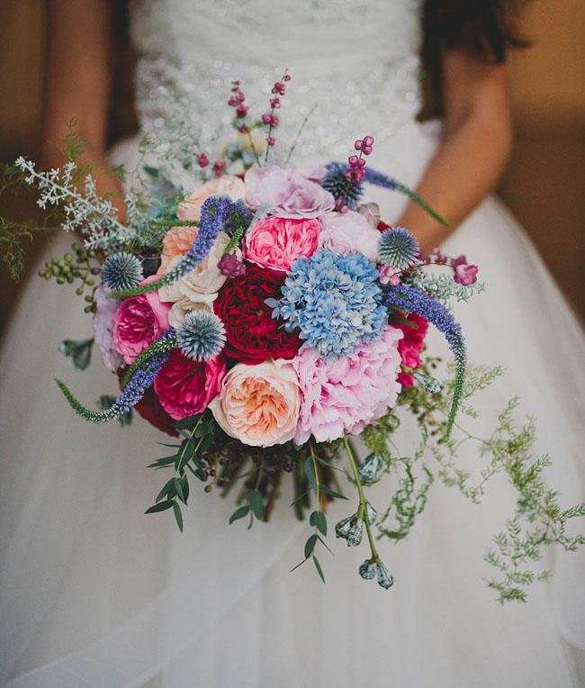 wintery gem bouquet