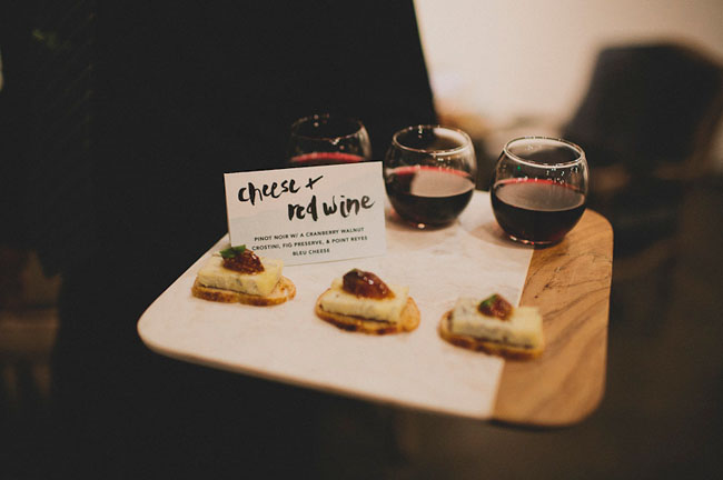 cheese and wine plate
