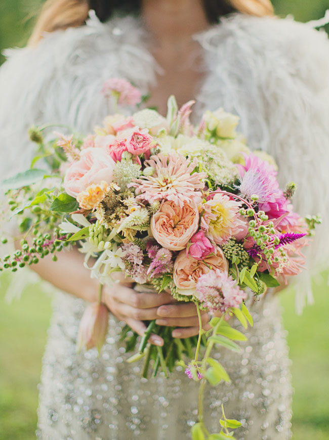 tipi wedding bouquet