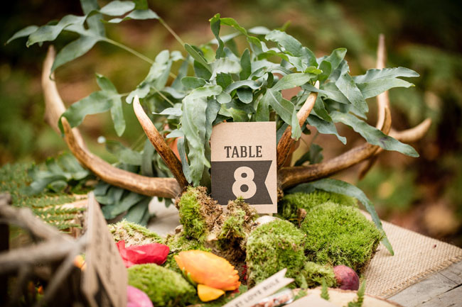 banner design table number