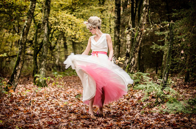 pink petticoat dress
