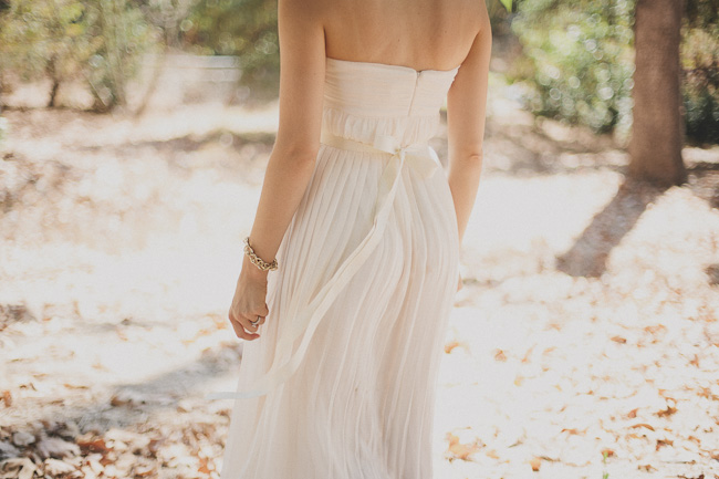DIY Beaded Sash - Finished Bride Back Bow Horiz