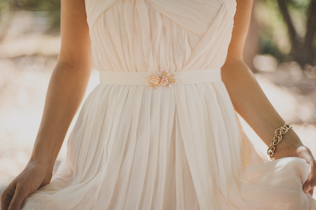 DIY Beaded Sash - Finished Bride Detail Horiz
