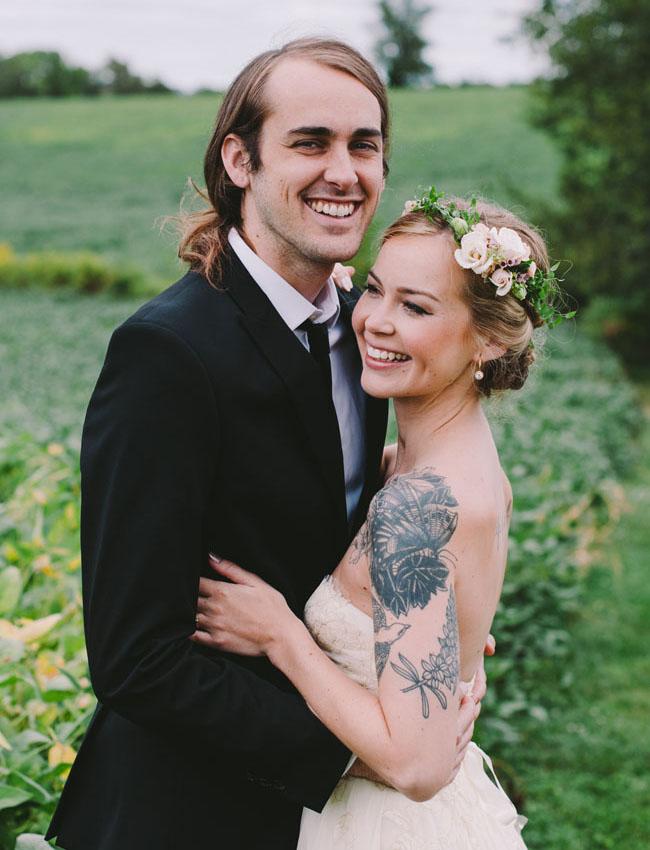 Pennsylvania DIY Barn Wedding: Lauren + Kyle
