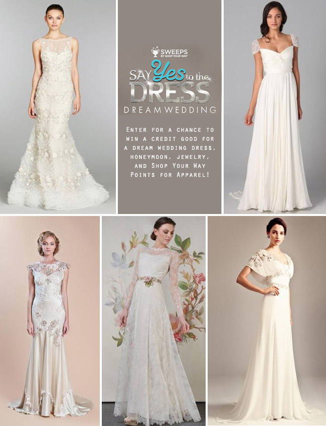 Say Yes to the Dress Dream Wedding Contest | Green Wedding Shoes ...