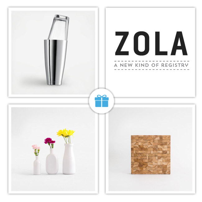 wedding registries sure have come a long way and zola is one of our faves yet wondering why theyre the only site that allows couples to register for