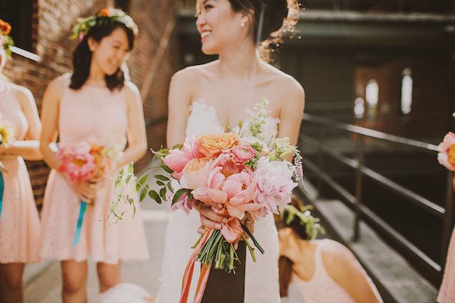 atlanta peony bouquet