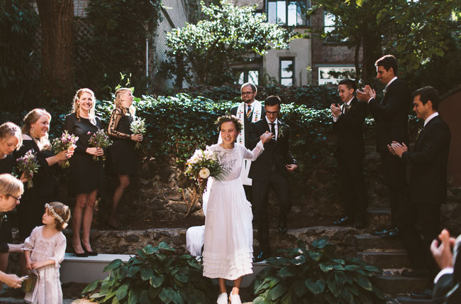 brooklyn backyard wedding