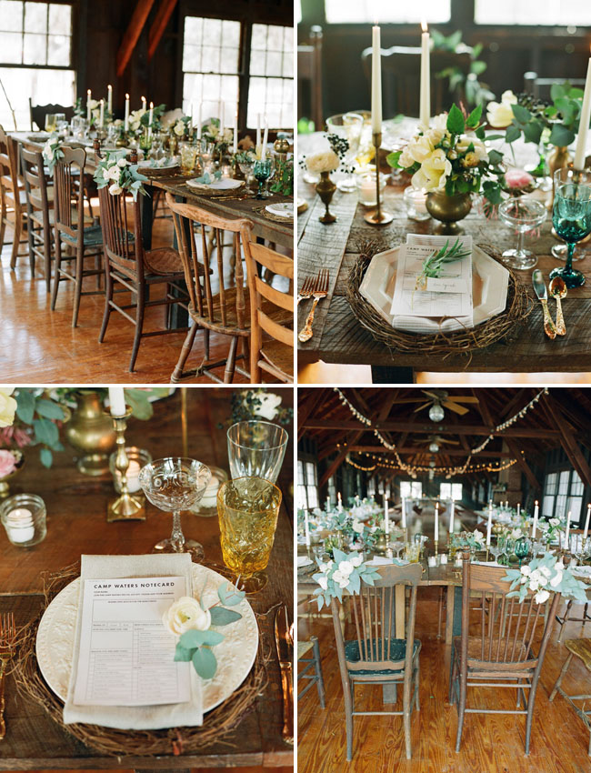 Western Wedding Decorations 50 Great green tablescape
