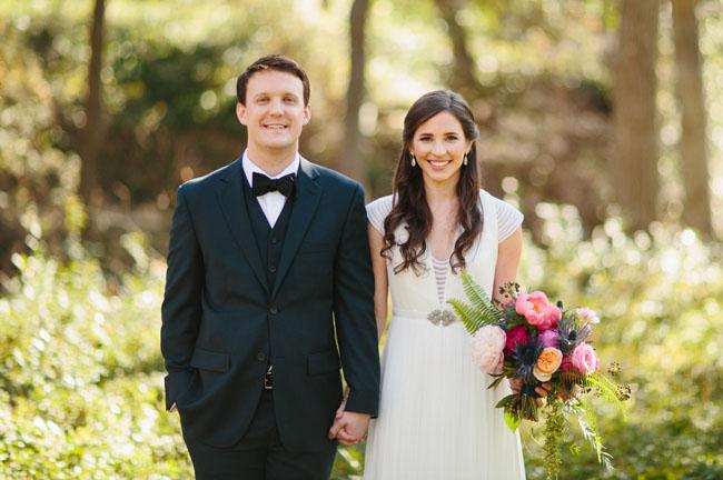 Whimsical Pink + Gold Dallas Wedding: Emily + Eric